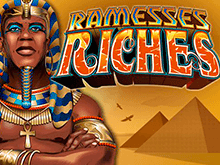 Играть в автомат Богатства Рамзеса на деньги